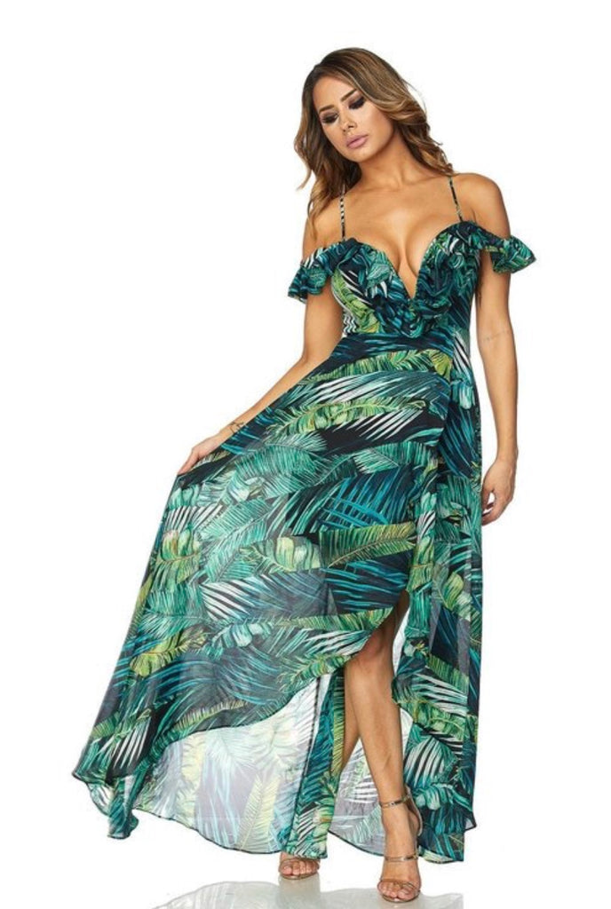 WELCOME TO PARADISE Maxi Dress