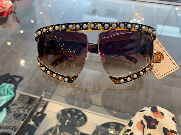 SUPERSTAR Unisex Bedazzled Sunglasses