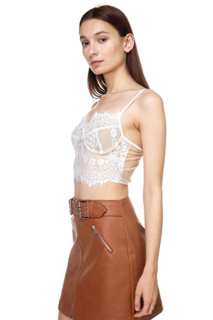 JOANNE Lingerie Crop Top