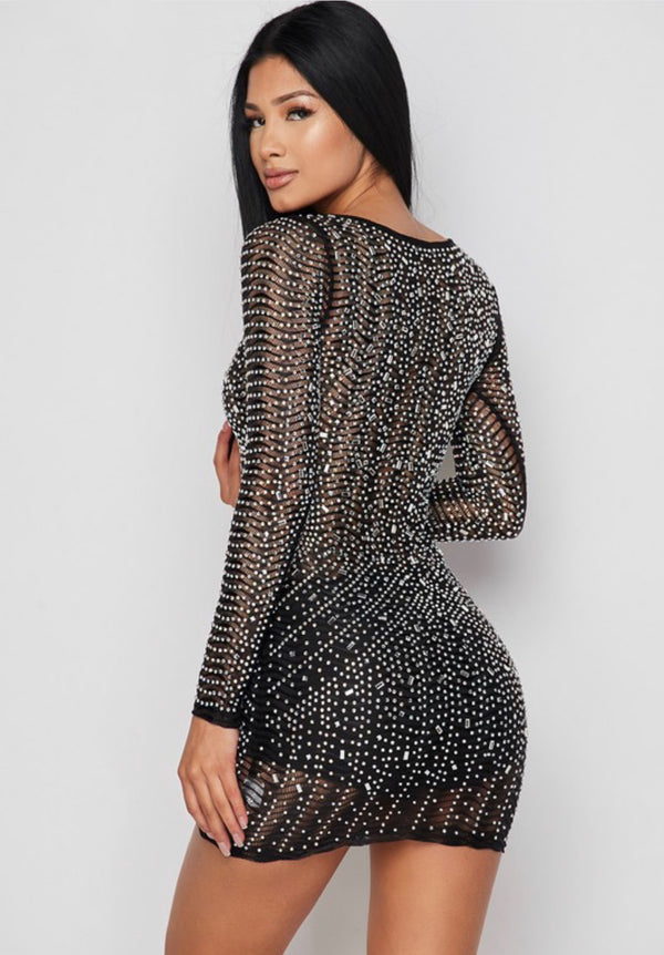 FANTASY Sparkly Mini Dress