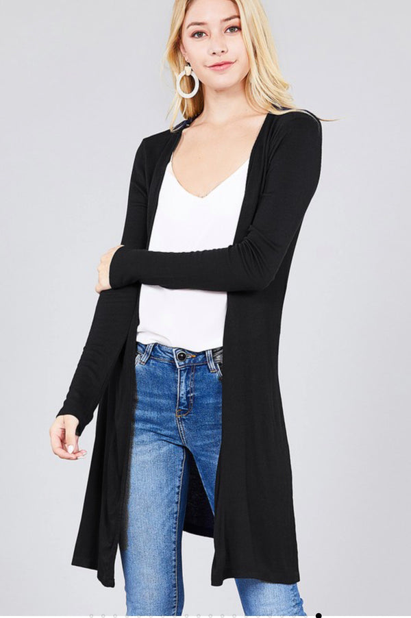 CLOSER Knit Ribbed Cardigan