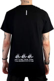 DISTRACTED T-SHIRT BLACK