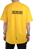 DISTRACTED T-SHIRT YELLOW