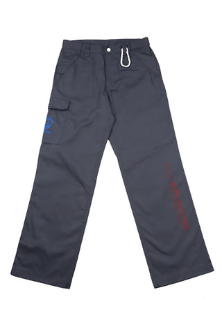 WORLD WIDE RIOT GRAY CARGO PANTS