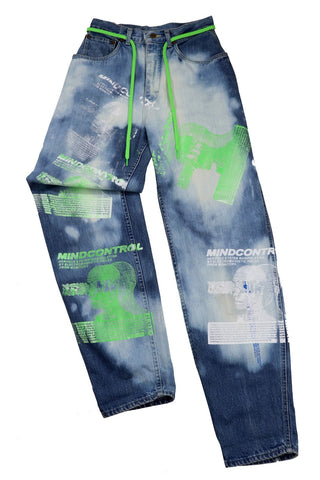 MIND CONTROL CUSTOM LEE JEANS