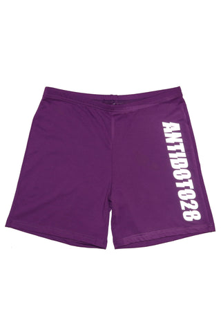 LOGO REFLECTIVE LEGGINGS SHORTS