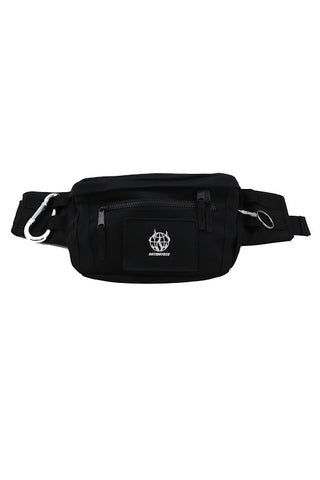 WORLD WIDE RIOT BLACK FANNY PACK