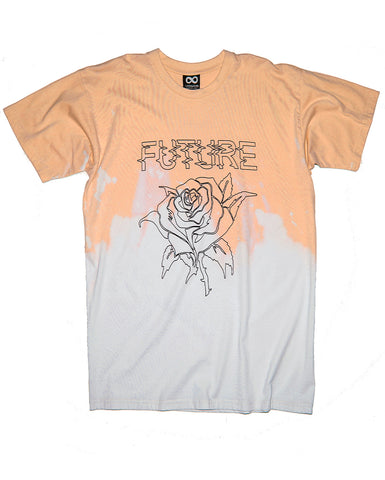 FUTURE ROSE YELLOW ACID T-SHIRT