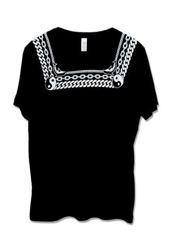 CHAINS BLACK TEE