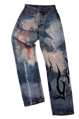 TRIBAL CUSTOM JEANS