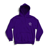 NEW NORMALITY UNISEX DEEP PURPLE HOODIE