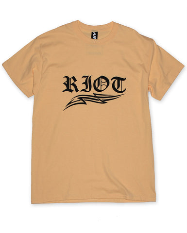 RIOT UNISEX YELLOW T-SHIRT