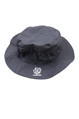 CONSPIRACY GREY BUCKET HAT