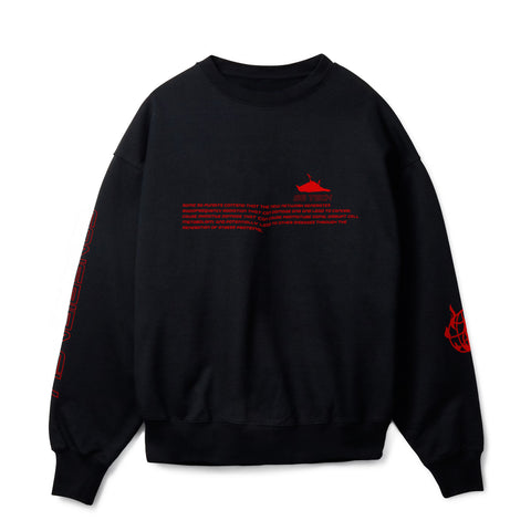 5G TECH BLACK T SWEATSHIRT