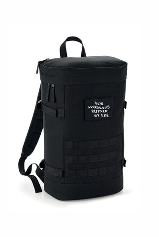 UTILITY BLACK BACKPACK