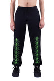 LIGHTNINGS JOGGER PANTS BLACK