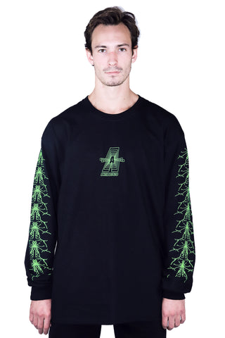 DIMENSION LONG SLEEVE BLACK
