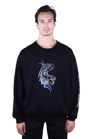 SUBATOMIC SWEATSHIRT BLACK