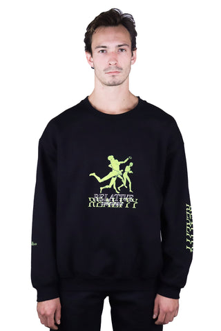 REALITY  SWEATSHIRT BLACK