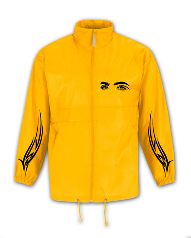 TRIBAL EYES YELLOW WIND COAT
