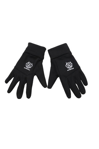 WORLD WIDE RIOT BLACK GLOVES