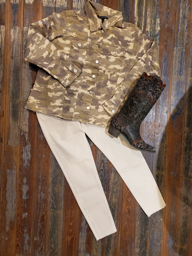 Camo Jacket by Baccini