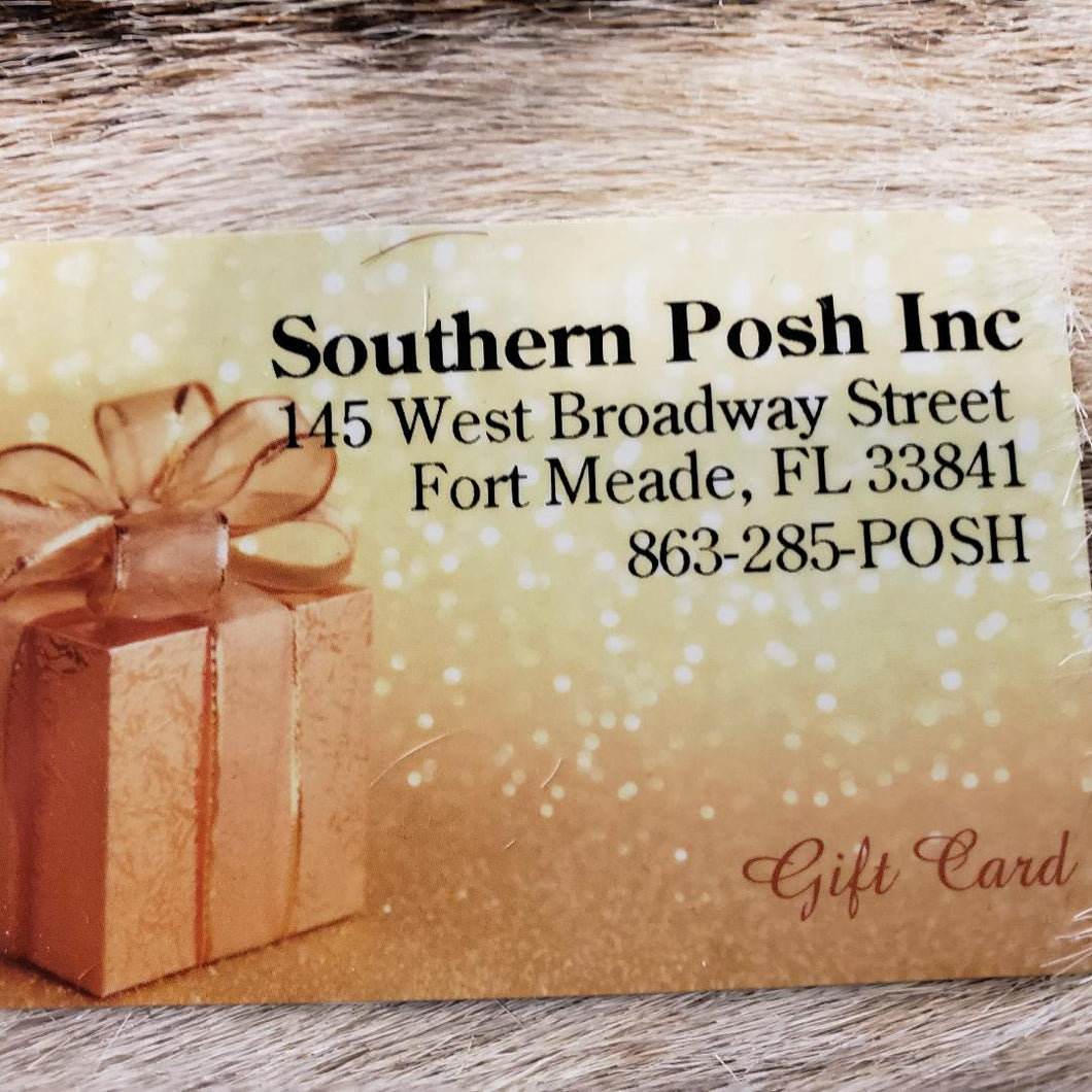 Southern Posh Gift Card