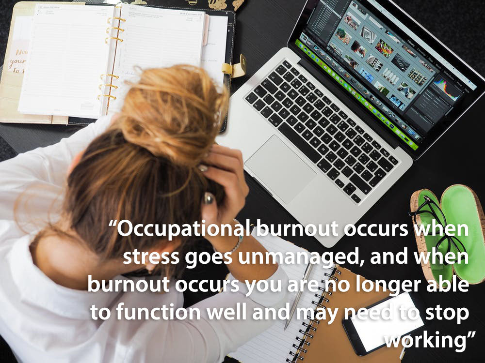 occupational burnout