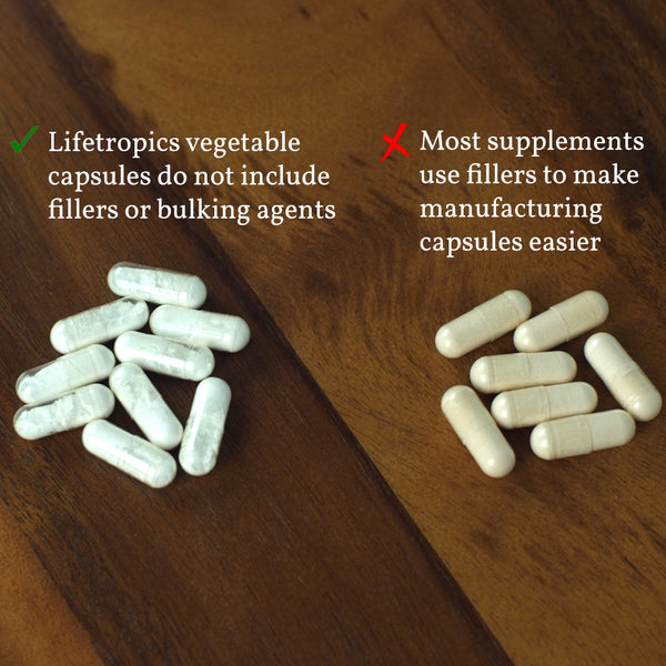 filler-free supplements at lifetropics