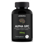 Alpha GPC, 300mg vegetable capsules - Lifetropics