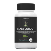 Black Cohosh extract, 700mg vegetable capsules - Lifetropics