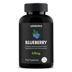 Blueberry extract, 670mg vegetable capsules - Lifetropics