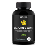 St. John's Wort extract, 590mg vegetable capsules - Lifetropics