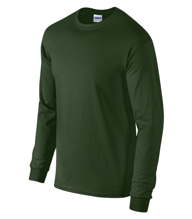 7df6e168 2400; GILDAN® ULTRA COTTON® LONG SLEEVE T-SHIRT. 2400 ...