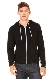 BELLA+CANVAS® POLY-COTTON FLEECE FULL ZIP. 3739