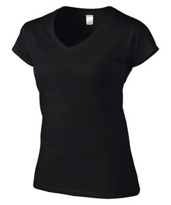 GILDAN® SOFTSTYLE® JUNIOR FIT V-NECK LADIES' T-SHIRT. 64V00L