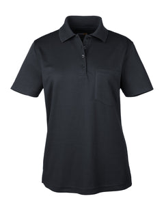 Ash City - Core 365 Ladies' Origin Performance Piqué Polo with Pocket. 78181P