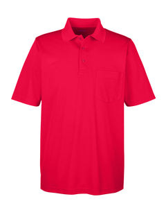 Ash City - Core 365 Men's Origin Performance Piqué Polo with Pocket. 88181P