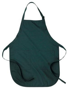 FULL LENGTH APRON WITH POCKETS. A100