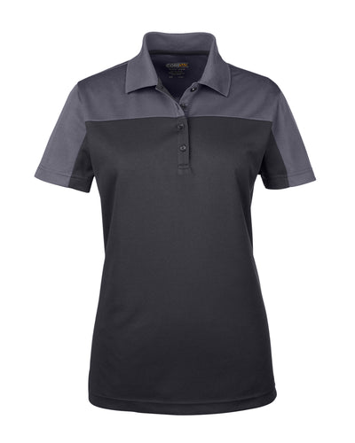 Ash City - Core 365 Ladies' Balance Colorblock Performance Piqué Polo. CE101W