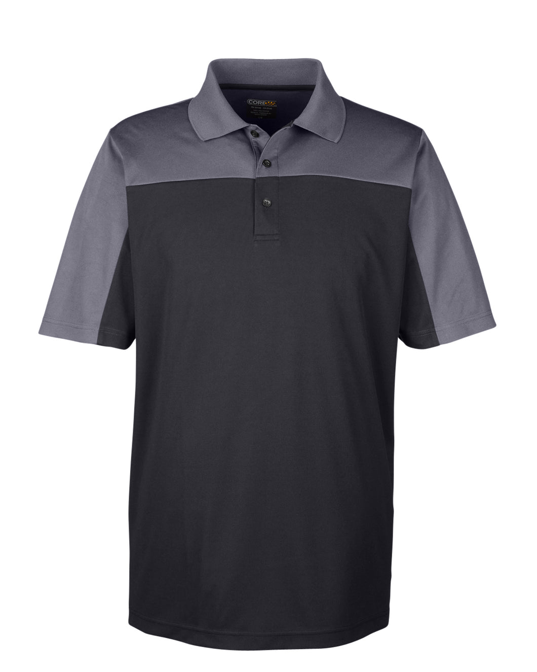 Ash City - Core 365 Men's Balance Colorblock Performance Piqué Polo. CE101
