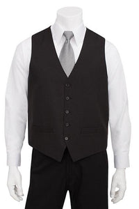 Men's Basic Vest: Black