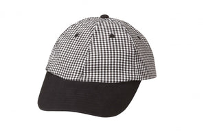 Small Check Baseball Cap