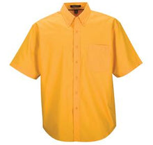 COAL HARBOUR EASY CARE SHORT SLEEVE WOVEN SHIRT. D510