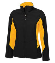 COAL HARBOUR® EVERYDAY COLOUR BLOCK SOFT SHELL LADIES' JACKET. L7604