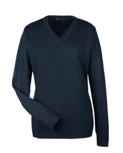 Harriton Ladies' Pilbloc™ V-Neck Sweater. M420W