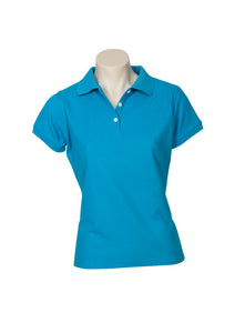 LADIES NEON POLO. P2125