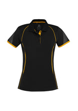 LADIES RAZOR POLO. P405LS