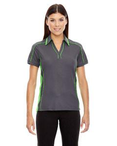 Ash City - North End Sport Red Ladies' Sonic Performance Polyester Piqué Polo