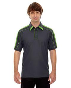Ash City - North End Sport Red Men's Sonic Performance Polyester Piqué Polo
